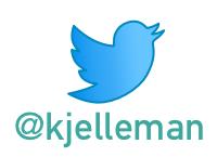 Du följer väl Kjell Eriksson på Twitter?